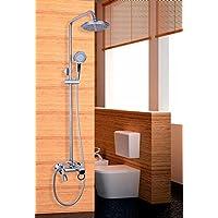 Gowe 20,3cm valvola di controllo doccetta soffione doccia Rainfall spray doccia rubinetto (Controllo Arm Set)