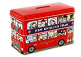 Englisch Tee, English Afternoon Tea in London Iconic Red Doppeldecker-Bus Mo ...
