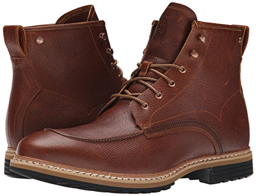 Timberland West Haven 6  Waterproof Mens Brown Leather Casual Dress Boots  Dark Brown  6 5 F UK