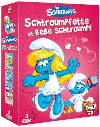 Les Schtroumpfs - Coffret Schtroumpfette et bébé schtroumpf