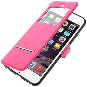 Housse Folio decrochage sans ouverture - Colorfone - Rose Fushia pour Apple iPhone 6 Plus