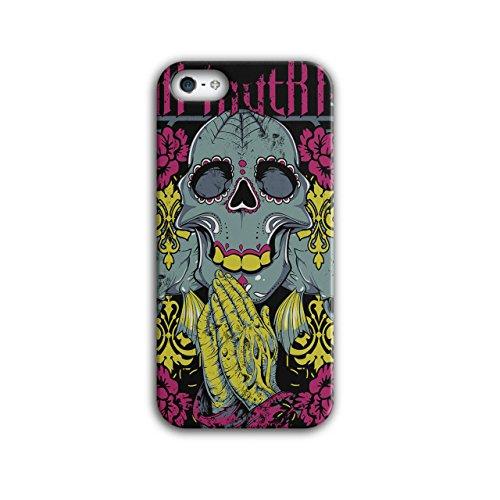 Muerte Rose Cool Schädel Maske Horror iPhone 5 / 5S Hülle | Wellcoda