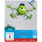 Die Monster Uni (Steelbook) (Bonus-Disc + Blu-ray 2D) [Blu-ray 3D]