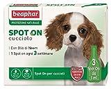 Beaphar protezione naturale cane (3 pipette) - Antiparassitario soluzione spot-on per cane a protezione naturale (cucciolo)