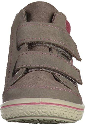 Ricosta Mädchen Kimo Hohe Sneaker Grau (Meteor/Sucre)