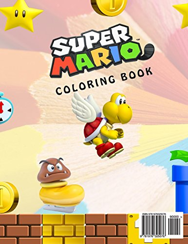 Super Mario Coloring Book Great For Kids And Any Fan Of Characters