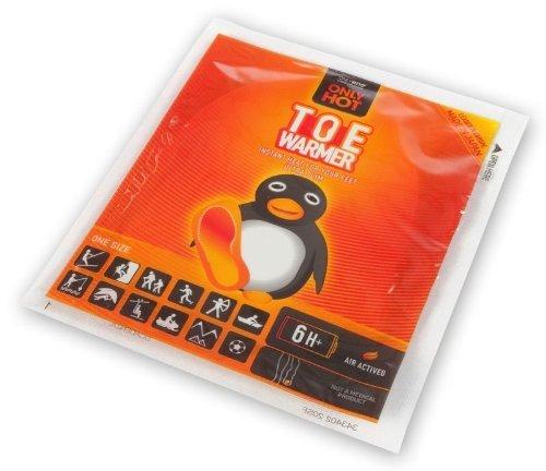 40 Paar Onlyhot Zehenwärmer für je über 6 Stunden wohlige Wärme im Display
