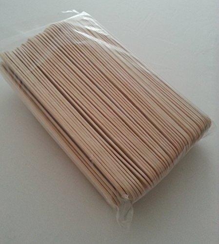 Holzmundspatel 50 Stück, 150mm, Haarentfernung, Holzspatel, Waxing Sugaring