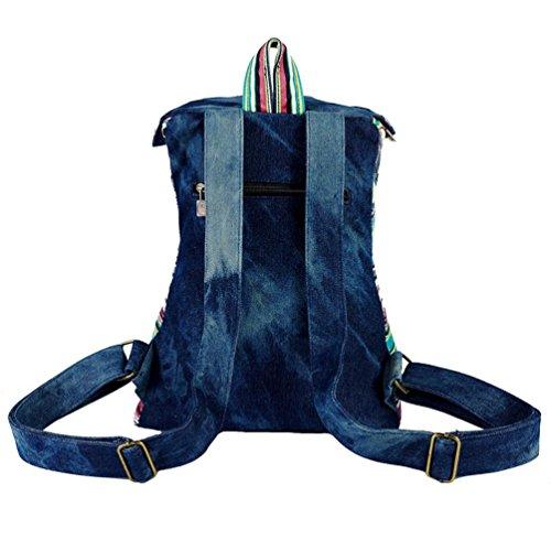 Imagen de chang spent  de viaje de vaquero estilo étnico de la mujer de arte de la moda , blue alternativa