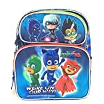 "PJ Masks Backpack 16"" Boys Book bag Were on our way School Backpack"