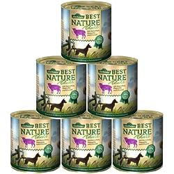 Dehner Best Nature Hundefutter Adult, Lamm und Kartoffeln mit Petersilie, 6 x 800 g (4.8 kg)