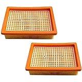 AM 2x Filtre HEPA pour Kärcher MV4MV5MV6wd4wd5wd6Aspirateur Filtre plissé plat remplaçant 2.863–005.0/28630050