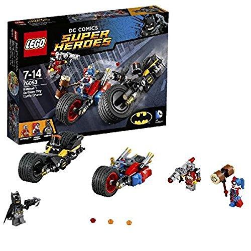 LEGO Super Heroes - Set Batman y persecución en moto por Gotham City, multicolor (76053)