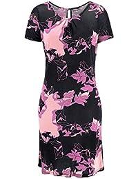Chillytime Damen-Kleid Kleid Mehrfarbig