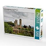 Die Geschlechtertürme in San Gimignano 1000 Teile Puzzle quer (CALVENDO Orte)