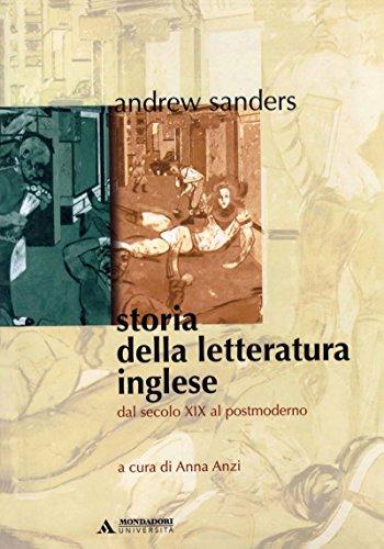 STORIA DELLA LETTERATURA INGLESE - Edizione digitale: Dal secolo XIX al Postmoderno: 2 (Manuali)