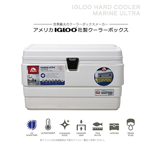 Igloo Cooler 18-44685 Nevera, Blanco, Única