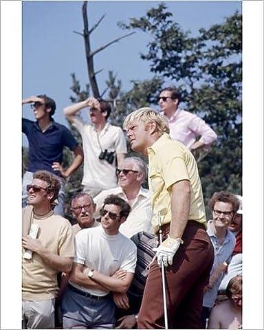 Photographic Print of Jack Nicklaus - British Open Golf Championship