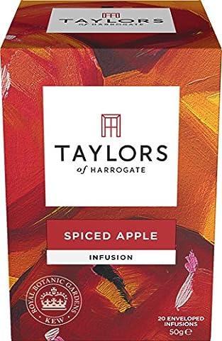 Taylors & Royal Botanic Gardens Kew Spiced Apple Tea 20 wrapped tea bags