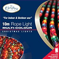 Benross The Christmas Lights 10m Chaser Rope Light - Multi-Coloured
