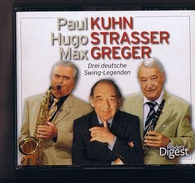 Drei deutsche Swing-Legenden. 4 CDs in Box. Mit 31seitigem Begleitheft. 92 Titel und 4 ½ Std. Spielzeit.