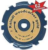 Holzschnitzfräser Raspelscheibe Kaindl Woodcarver Gold 115mm