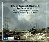 Johann Friedrich Reichardt : Die Geisterinsel, opéra. Staude, Lichtenstein, Schäfer, Abele, Sol, Max.