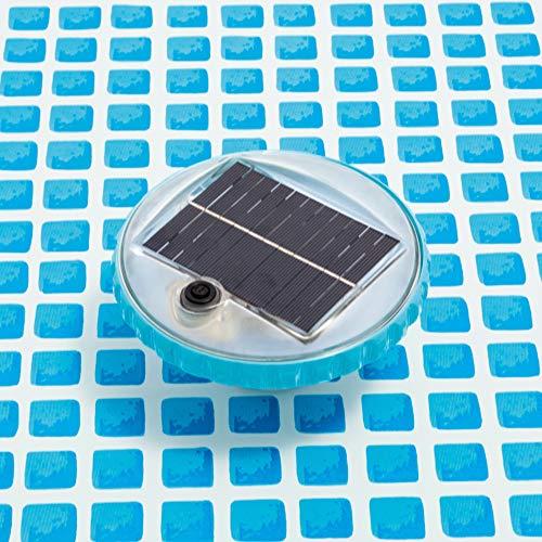 Intex 28695 - Luz LED flotante de carga solar para piscinas