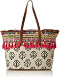 #3: Kanvas Katha Jacquard Stylish Tote Bag Collection for Women Women's (Multicolor)