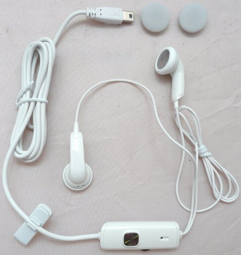 GENUINE BULK PACK WHITE HTC HS S200 STEREO HANDSFREE HEADSET SUITABLE FOR O2 ... S200 Stereo