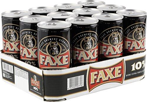 Faxe 10% Extra Strong, EINWEG (12 x 1 l)