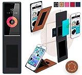 Obi Worldphone SF1 Hülle in braun Leder - innovative 4 in