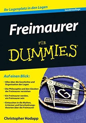 Freimaurer Fur Dummies (F??r Dummies) by Christopher Hodapp (2014-12-10) Freimaurer Für Dummies