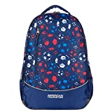 #4: American Tourister Hs Mv+ 28 Ltrs Blue Casual Backpack (AT9 (0) 11 008)