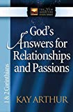 God's Answers for Relationships and Passions: 1 and 2 Corinthians (The New Inductive Study Series)
