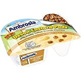 Ambrosia Pegajosa Toffees Pote 117g Crema Pastelera (Paquete de 6)