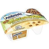 Ambrosia Pegajosa Toffees Pote 117g Crema Pastelera (Paquete de 2)