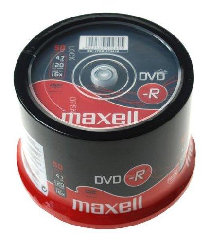 Maxell DVD-R Capacité 4,7 Go/120 min Vitesse 16x Lot de 100 (Import Allemagne)
