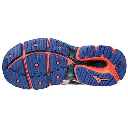 Mizuno Koral Mulheres Azul Onda Corrida Sapatos De 6 Enigma rrA1awqU