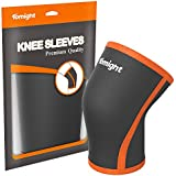 Knee Sleeve, Tomight Knee Brace 7mm Neoprene Knee Compression Support For Knee Support & Patella Protection For...