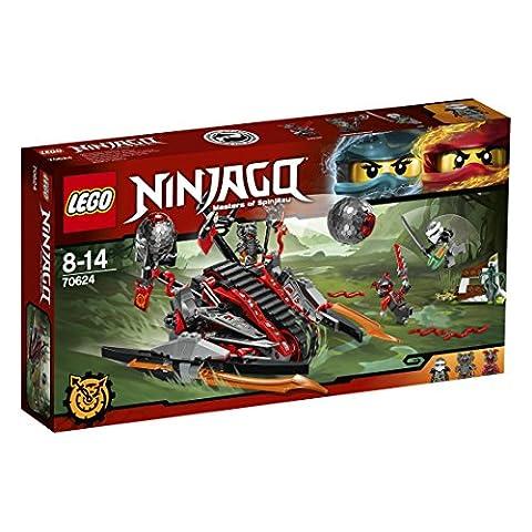 LEGO - 70624 - NINJAGO - Jeu de Construction - La catapulte Vermillion