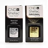 CND Shellac Top & Base Coat Soak Off GEL .25 oz CREATIVE Nail Polish UV Lamp