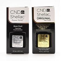 CND Shellac Smalto Gel Power UV Base and Top Coat (Blemish Base)