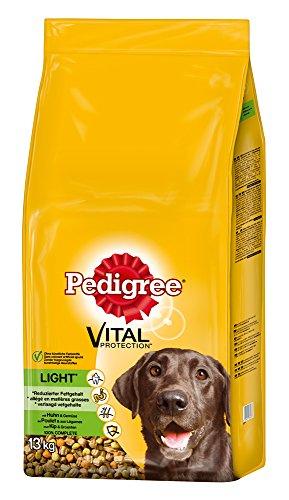 Pedigree Light Hundefutter Huhn und Gemüse, 1 Beutel (1 x 13 kg)