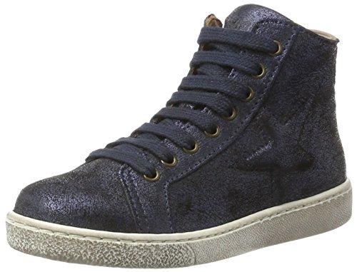 Bisgaard Unisex-Kinder Schnürschuhe Hohe Sneaker, Blau (611 Blue), 29 EU