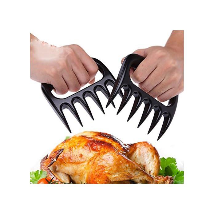 2pc Br Krallen Fleisch Paws Bbq Fleisch Handler Gabeln Pulled Pork Aktenvernichter Klauen Fr Carving Schnitzel Fleisch