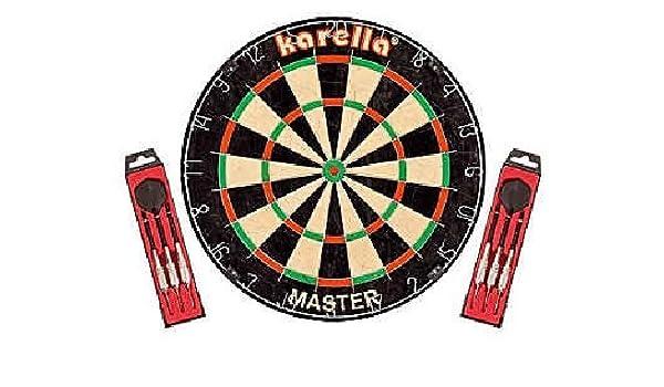 Dartscheibe Karella MASTER Wettkampf-Dartboard