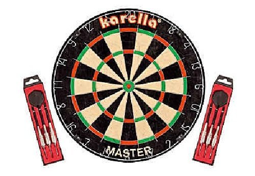 Dartboard Master Dart Board Karella Spiel Dartscheibe Wettkampf