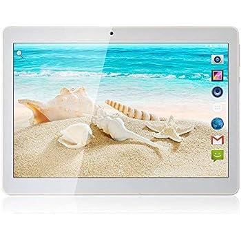 Tablet Android 7.0 de 10 Procesador de Cuatro núcleos 4GB de RAM ...