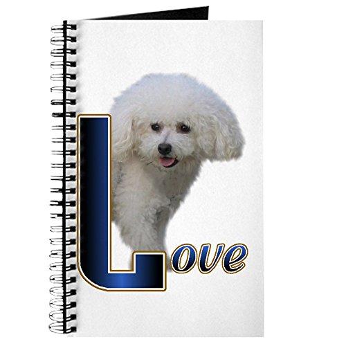 CafePress-Bichon Frisé Love-Spiralbindung Journal Notizbuch, persönliches Tagebuch, blanko -